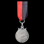​  Imperial Chemical Industries Ltd 25 Years Service Medal, silver and enamels, silver hallmarks ...