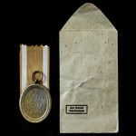 Germany - Third Reich: West Wall Medal, 2nd type 1944 bronzed zinc issue, together with original ...