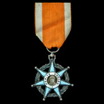 France: Order of Social Merit, Knight Grade, silver and enamels. A relatively early example of type.