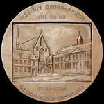 Belgium: Commemorative Medal for the Military Geographical Institute - now the National Geographi...