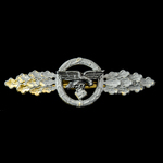 Germany - Third Reich: Luftwaffe Squadron Clasp for Transport Pilots in Gold, a mid-late war exam...