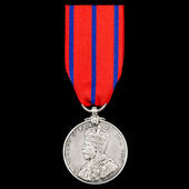 Coronation Medal 1911, Metropolitan Police issue awarded to a Police Constable E. Jones, one of f...