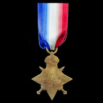1914 Star awarded to Private . | London Medal Company
