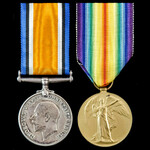 Great War pair awarded to Private R. Ratcliffe, Essex Regiment, who saw service during the Great ...