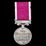 Regular Army Long Service and Good Conduct Medal, GVI 2nd type bust, awarded to Warrant Officer 2...