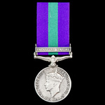 Second World War North Africa Battle of El Alamein Officer Casualty General Service Medal 1918-19...