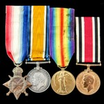 Great War Battle of Jutland Signal Boy and Special Constabulary long service group awarded to Sig...