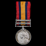 Queen's South Africa Medal 1899-1902, 2 Clasps; Cape Colony, South Africa 1901 awarded to Private...
