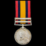 Ambush at Leeuwspruit Rhenoster River June 1900 Killed in Action Queen's South Africa Medal 1899-...