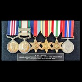 The rare India North West Frontier 25th November 1936 Military Medal and Second World War group a...