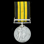 A scarce to regiment Africa General Service Medal 1899-1956, EVII 2nd type bust, 1 Clasp: Somalil...