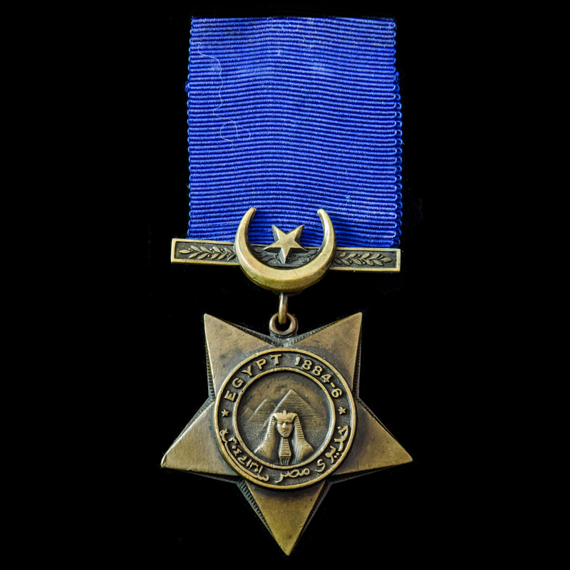 Khedive's Star dated 1884-6. . | London Medal Company
