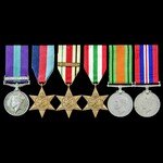 Palestine Arab Rebellion and Second World War North Africa 8th Army and Italy group awarded to Pr...