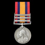 Queen's South Africa Medal 1899-1902, 3 clasps: Cape Colony, Orange Free State and South Africa 1...