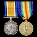 Great War 'Mystery Ship' Officer's pair awarded to Engineer Sub Lieutenant D. Hudson, Royal Naval...