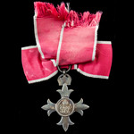 The Most Excellent Order of the British Empire, Officer, O.B.E., 2nd type, Civil Division, mounte...