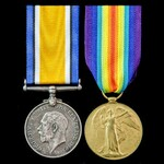 Great War pair to Driver C.J.M. Setters, Royal Field Artillery from Tottenham, North London.