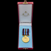 Arnhem 50th Anniversary Medal, plated cupro-nickel, by Spink & Son Ltd, contained within case of ...