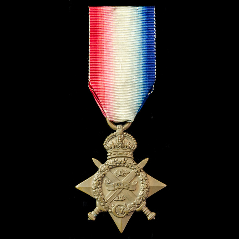 A 1914 Star awarded to Privat.   London Medal Company