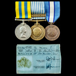 Korean War Centurion Tank man, and United Nations Cyprus group awarded to Trooper later Corporal ...