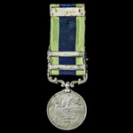 India General Service Medal 1908-1935, 2 Clasps: North West Frontier 1930-31, North West Frontier...