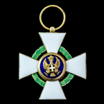 Italy - Kingdom of / Fascist / Italian Social Republic: Order of the Roman Eagle, 5th Class Knigh...