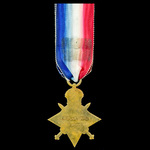 Battle of the Somme Officer Casualty 1914-1915 Star, awarded to 2nd Lieutenant J.M. Scott, 11th S...