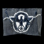 Germany - Third Reich: German Field Police Other ranks bevo cap eagle. Small size and in uncut fo...