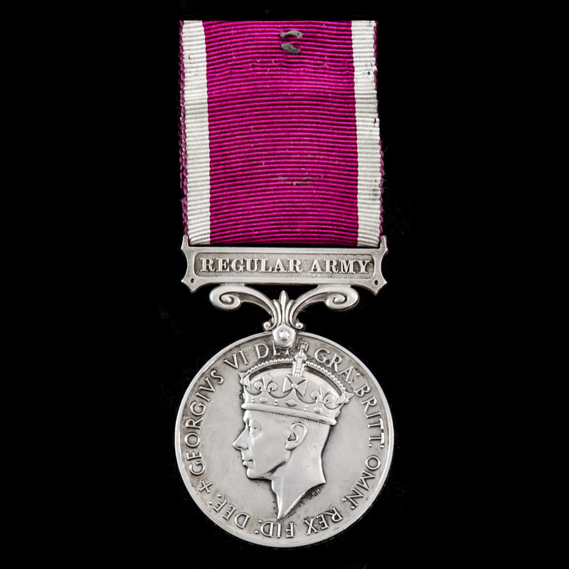 Regular Army Long Service and.   London Medal Company