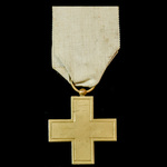 France: Cross of the French Society for the Aid of Wounded Military 1870-1871, single sided versi...