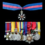 The superb Great War Western Front Staff Officers December 1919 Companion of the Order of Saint M...
