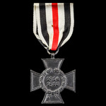 Imperial Germany: Honour Cross 1914-1918 without Swords and with blackened finish for Next-of-Kin...