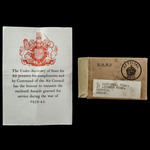 Second World War Home Service. | London Medal Company