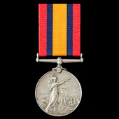 Queen's South Africa Medal 1899-1902, no clasp, awarded to Private B. Smit, Mariasburg Town Guard...