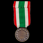 Italy: Medal for the Unification of Italy 1848-1918, official version by Mario Nelli.