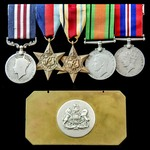 The rare Second World War East Africa operations Military Medal group awarded to Sergeant later C...