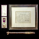 ​  A rare cased Queen Victoria 1887 Golden Jubilee Medal for Member's of the Manchester City Coun...