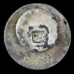 Germany - Third Reich - NSDAP Nazi Party Membership Badge, enamel form with button hole attachmen...