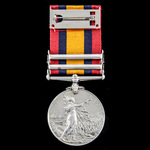 Queen's South Africa Medal 1899-1902, 2 Clasps: Cape Colony, Relief of Ladysmith; (8130 PTE. H. H...
