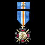 Germany: Third Reich/Netherlands, 1941 Mussert Cross for foreign volunteers into the Warren-SS, t...