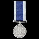 Royal Navy Long Service and Good Conduct Medal, GVI 2nd type bust, awarded to Corporal K. Dixon, ...