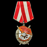 Russia – Soviet: A Head of Staff of a Railway Brigade's Order of the Red Banner to Colonel Aleksa...