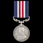 Great War Third Battle of Ypres July 1917 Trench Raider's single Military Medal awarded to Privat...