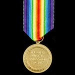 First Day of the Third Battle of Ypres Casualty Victory Medal awarded to Private E.A. Cleverly, 1...