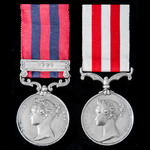   A fine Second Burma War Pegu Campaign Mention in Despatches and Indian Mutiny pair awarded to ...
