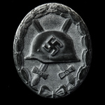 Germany - Third Reich: Wound Badge 1939, Silver Grade, needle pin, no maker's mark