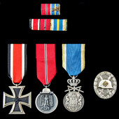 Germany – Third Reich: A rare and interesting Croatia anti-Partisan operations Iron Cross 2nd Cla...