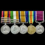 South Africa Boer War and Great War Musician's long service group awarded to Private later Guards...