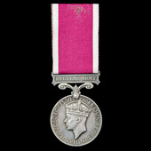 Regular Army Long Service and Good Conduct Medal, GVI 1st type bust, awarded to Sergeant H.J. Ste...