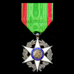   France: Order of Agricultural Merit, Knight Grade, silver-gilt and enamels.